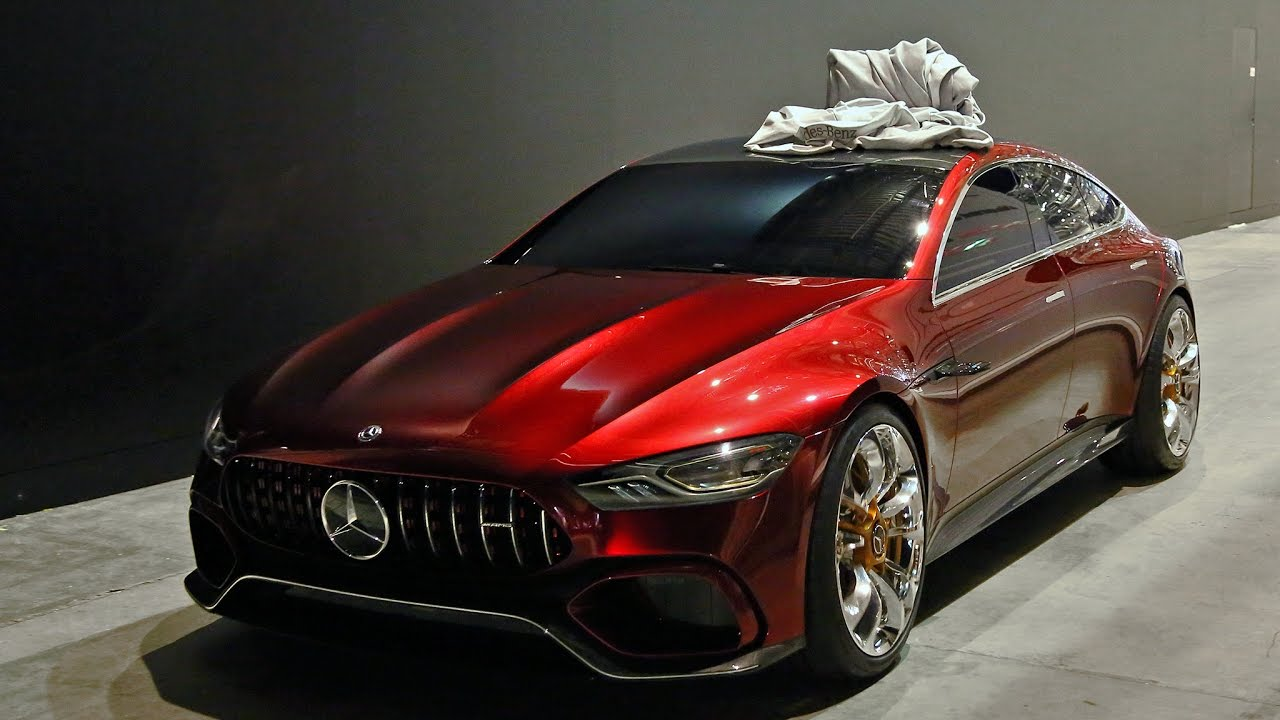 mercedes amg gt4 concept - driving - youtube
