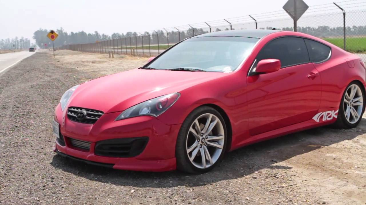 hyundai genesis coupe 2 0t ark dt s exhaust system youtube. Black Bedroom Furniture Sets. Home Design Ideas