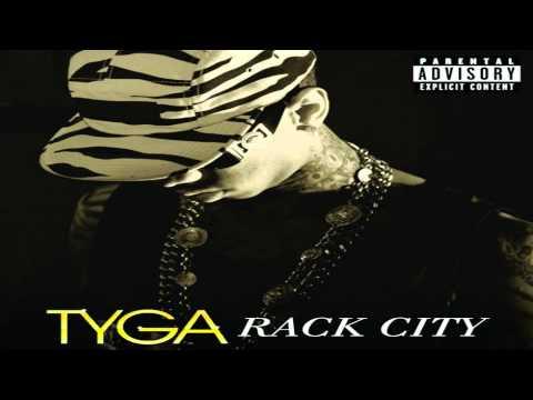 Tyga - Rack City Remix ftWale, Fabolous, Meek Mill, Young Jeezy, T.I. (Lyrics on Screen)