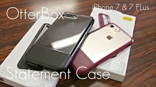 Clear, Leather, Luxury Look! - OtterBox Statement Case - iPhone 7 & 7 Plus - Review / Demo