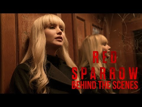 'Red Sparrow' Behind The Scenes