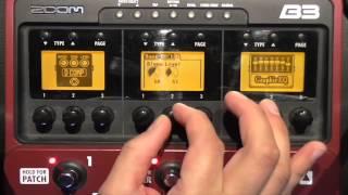 Lezioni di Basso Elettrico - Effetti per Basso - Recensione ZoomB3