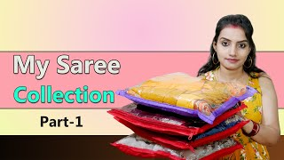 My Saree Collection || Designe…