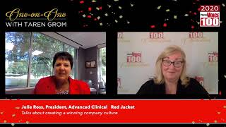 Julie Ross, Advanced Clinical – 2020 PharmaVOICE 100 Celebration