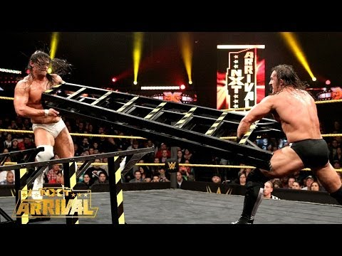 Bo Dallas vs. Adrian Neville - NXT Championship Ladder Match: NXT ArRIVAL, Feb. 27, 2014
