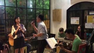 Cơn mưa tình yêu - ST Mạnh Quân -  guitar acoustic cover by Khuong & Quynh