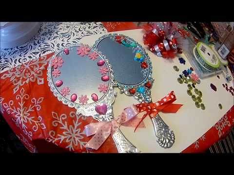 DISNEY INSPIRED LITTLE MERMAID DOLLAR TREE MIRROR
