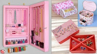 17 Life Hacks Ideas Every Girl Should Know !!! Jewelry Storage Hacks