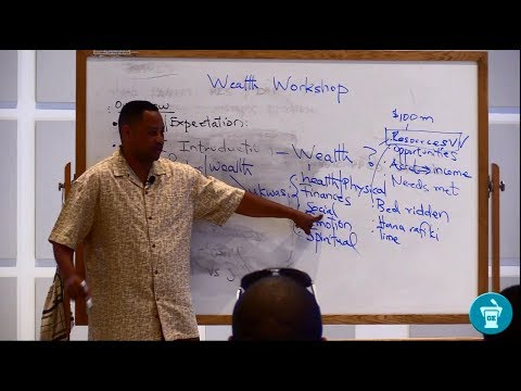 Mkristo na Uchumi: Wealth vs Riches-Part I [Dr. Lucas D. Shallua]