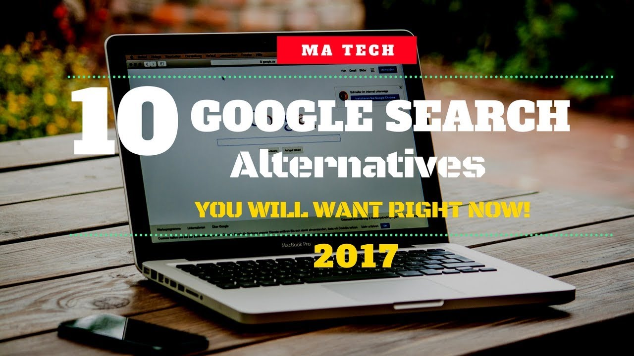 10 Google Search Alternatives You Should Know