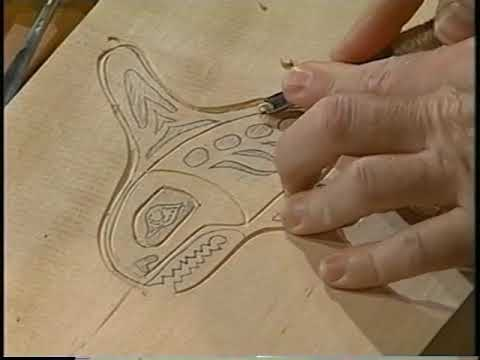 Woodcarving With Rick Butz - Wood Block Print