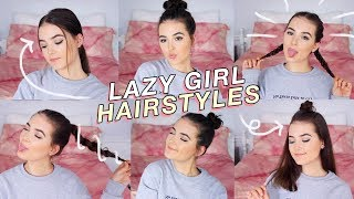LAZY GIRL HAIRSTYLES FOR THE SUMMER | Reese Regan