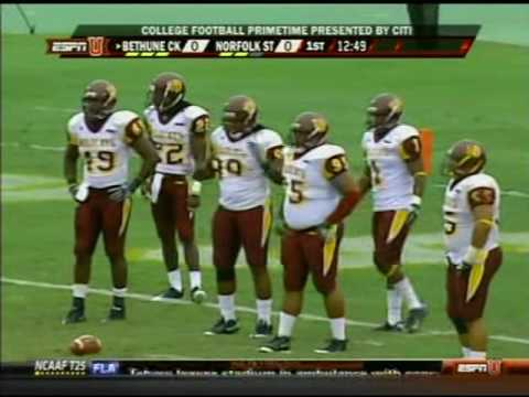 2009 Bethune Cookman Wildcats @ Norfolk St Spartans