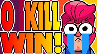 0 KILL WIN?! - Brawl Stars