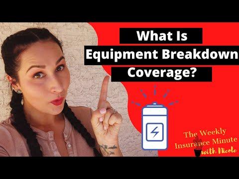What Is Equipment Breakdown Coverage?