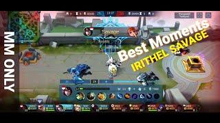 Irithel Savage Moment - Hero Irithel Perfect Gameplay - Irithe…