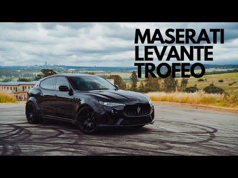 624hp widebody Maserati Levante in Africa / The Supercar Diaries