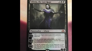 MTG Eldritch Moon Fat Pack opening.  Foil Liliana!