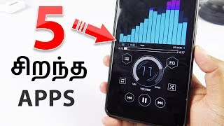 5 சிறந்த apps in 2018 5 best apps for android in 2018 tamil