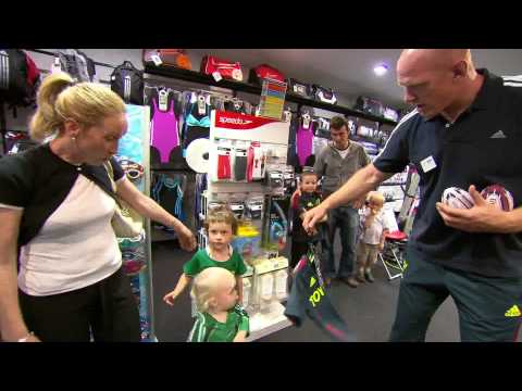 adidas - Munster players in Elverys Sports - Out-Takes