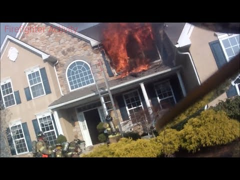 PA Structure Fire Helmet Cam from Firefighter