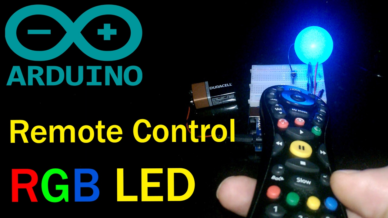 Infrared Remote Controlled Rgb Led Arduino Code Wiring Diagram Controls Schematic