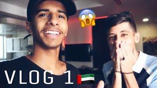 #فلوق 1 وصلت حبيبت راكان في دبي وراح استقبلها 😂!!