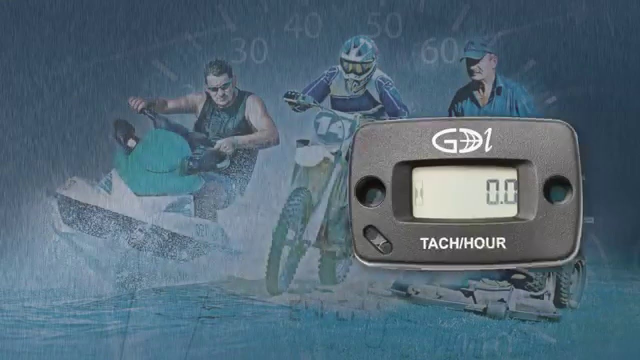Inductive TACH/HOUR Meter for Gas Engines Global Digital Instruments (GDI)