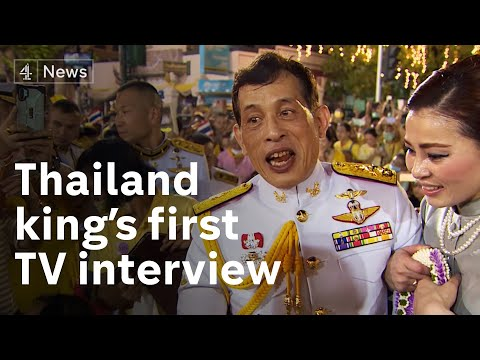 First TV interview with Thai king - says country is 'land of compromise' amid widespread protests