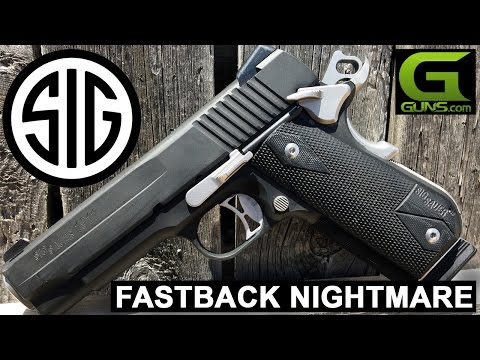 Sig Sauer Fastback Nightmare Review