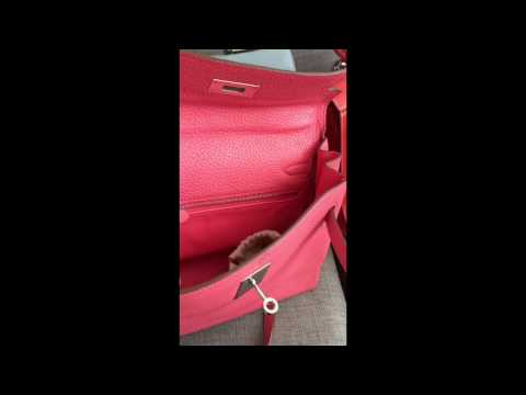 Hermes Kelly in Epsom and Togo leather