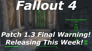 Artillery fallout 4 glitch after patch