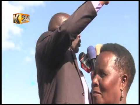 BOMET WALKOUT: 7 MPs walk out in a presidential event over Governor Joyce Laboso