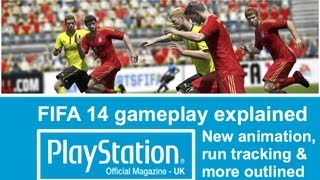 FIFA 14 video: new shots types, run tracking & defending explained in our producer interview