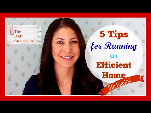 5 Tips for Running an Efficient Home | Life Hacks| Collab with Mina from The Universe Guru