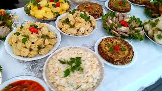 Чеченские блюда в Франции. Plats tchétchènes en France