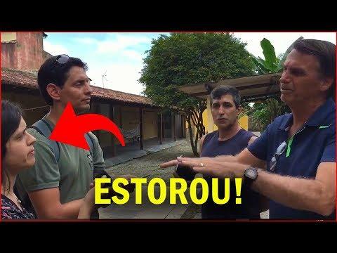 JAIR BOLSONARO FINALMENTE FICOU CARA A CARA COM A FOLHA DE SÃO PAULO
