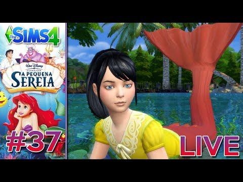 LIVE - MELODY VIROU UMA SEREIA - A PEQUENA SEREIA - NOVA SÉRIE!!