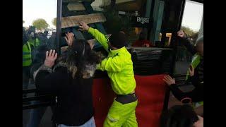 Agressés par carrefour gilets jaunes Narbonne