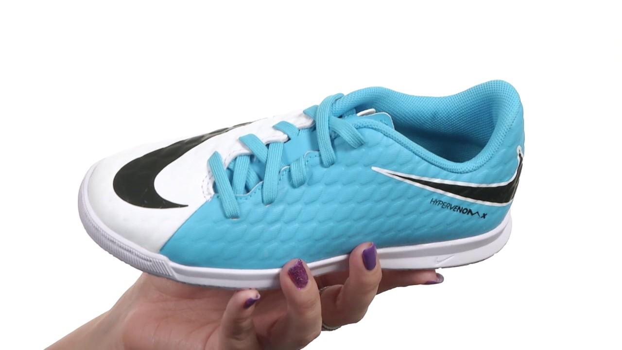cffe4756eecb Nike Kids Hypervenom Phade III IC Soccer (Little Kid Big Kid) SKU 8799867