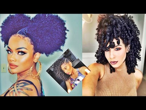 Latest Beautiful Short Curly Hairstyles for Black Women 2017