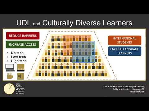 Universal Design For Learning (Part 6): Culturally Diverse Learners