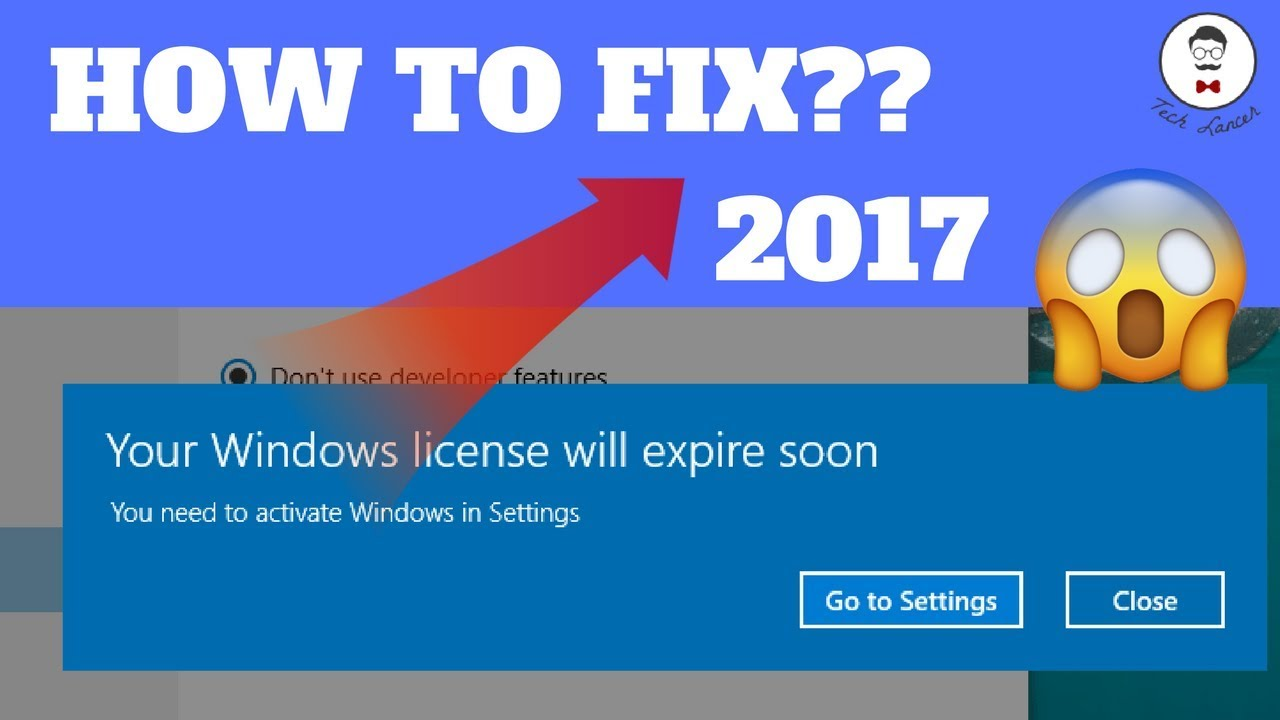 my windows 10 product key is expired