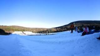 Snow tubing at CamelBack in 360