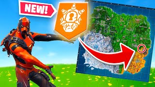 NEW SECRET BANNER! Fortnite Week 10 Challenges Guide - Shooting Gallery and Expedition Outposts!