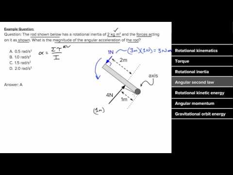 AP Physics 1 Review of Torque and Angular momentum