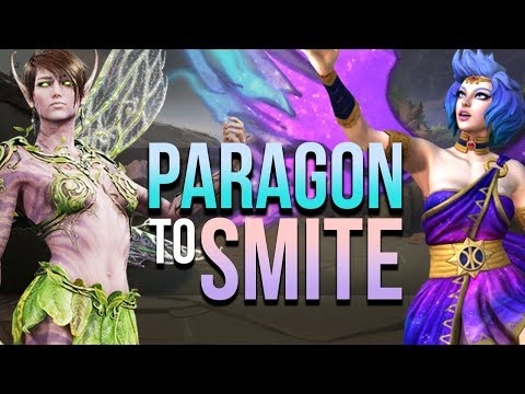 Switching from PARAGON to SMITE! Differences, Similar Gods & Heroes And MORE! Feat. LHS