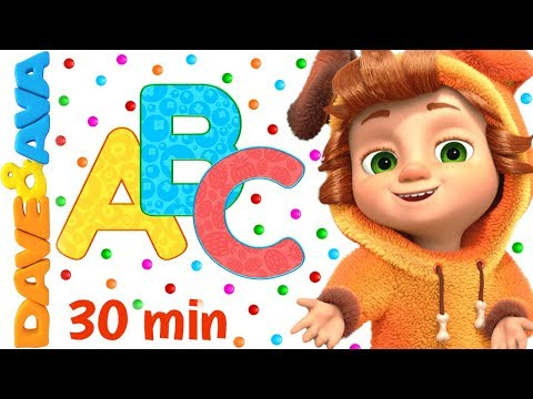 🐭 ABC Song + More Nursery Rhymes & Kids Songs   Dave and Ava 🐭