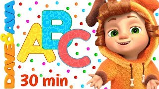 ???? ABC Song + More Nursery Rhymes & Kids Songs | Dave and Ava ????