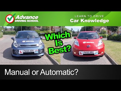 Manual or Automatic?  |  Learn to drive: Car Knowledge